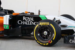 Sahara Force India F1 VJM07 launch - sidepod detail