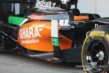 Sahara Force India F1 VJM07 chassis detail