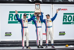 P class podium: class and overall winners Joao Barbosa, Christian Fittipaldi, Sébastien Bourdais