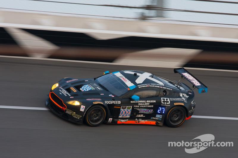 #009 TRG-AMR Aston Martin V12 Vantage: Calum Lockie, Pete McIntosh, Robert Nimkroff, Max Riddle, Jonny Adam