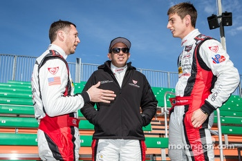 Champions photoshoot: Spencer Pumpelly, Nelson Canache and Dion von Moltke