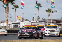 #88 Rebel Rock Racing Porsche Cayman: Jim Jonsin, Jarett Freeman Jr.