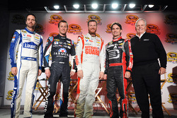 NASCAR-CUP: Jimmie Johnson, Kasey Kahne, Dale Earnhardt Jr., Jeff Gordon and Rick Hendrick