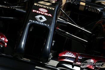 Lotus F1 Team, Technical detail, front wing