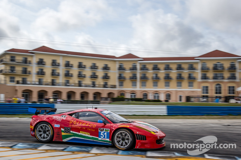 #51 Spirit of Race Ferrari 458 Italia: Matt Griffin, Jack Gerber