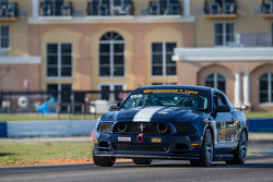 #158 MultiMattic Motorsports Mustang Boss 302 R: Ian James, Billy Johnson