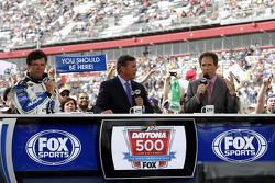 Michael Waltrip, Michael and Darrell Waltrip at FOX TV