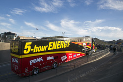 Hauler of Clint Bowyer