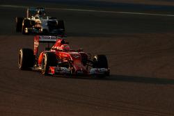 Kimi Raikkonen, Scuderia Ferrari and Nico Rosberg, Mercedes AMG F1 Team