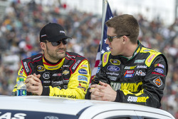 Paul Menard and Carl Edwards