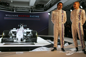 Felipe Massa and Valtteri Bottas, Williams Martini F1 Team