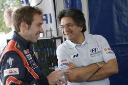 Chris Atkinson and Michel Nandan