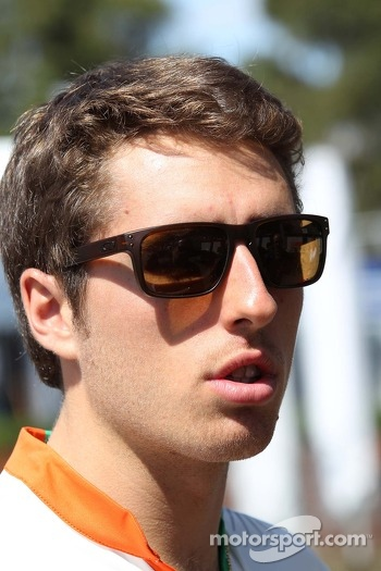 Daniel Juncadella (ESP) Sahara Force India F1 Team Test and Reserve Driver.