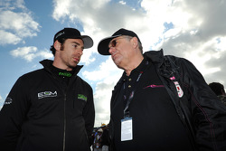 Simon Pagenaud and Jacques Nicolet