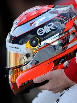 Helmet of Jules Bianchi, Marussia F1 Team