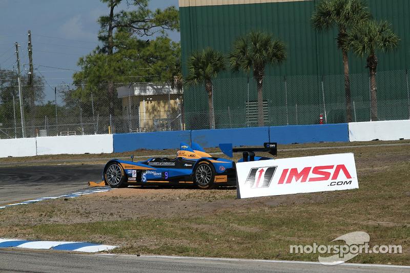 #85 JDC/Miller Motorsports ORECA FLM09 Chevrolet: Chris Miller, Gerry Kraut, Stephen Simpson