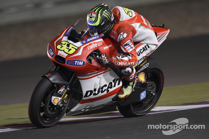 Cal Crutchlow, Ducati Team op Qatar GP - MotoGP foto's