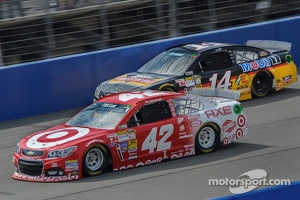 Kyle Larson and Tony Stewart