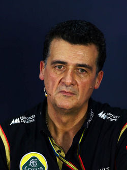 Federico Gastaldi, Lotus F1 Team Deputy Team Principal in the FIA Press Conference