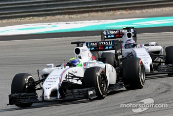 Felipe Massa (BRA), Williams F1 Team and Valtteri Bottas (FIN), Williams F1 Team  30
