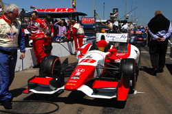 Car of Carlos Huertas, Dale Coyne Racing Honda