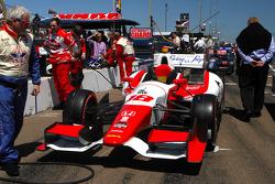 Car of Carlos Huertas, Dale Coyne Racing Honda