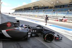 Sergey Sirotkin, test driver, Sauber F1 Team