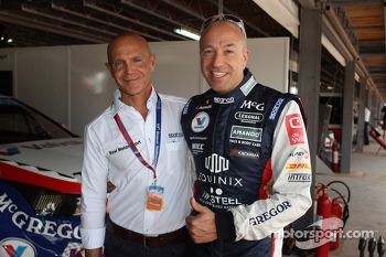 Aldo Preo, Team owner, ROAL Motorsport and Tom Coronel, Chevrolet RML Cruze TC1, Roal Motorsport