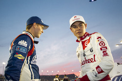 Trevor Bayne and Kyle Larson