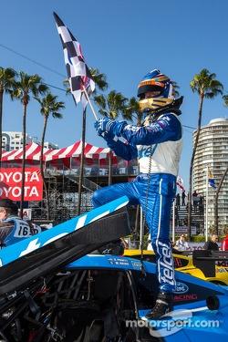 Race winner Scott Pruett