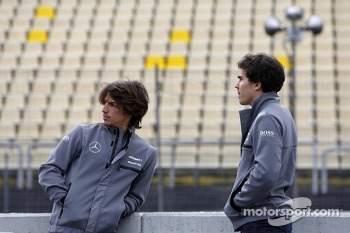 Roberto Merhi, Mercedes AMG DTM-Team HWA, Portrait and Robert Wickens, Mercedes AMG DTM-Team HWA, Portrait