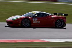 #55 AF Corse Ferrari F458 Italia: Duncan Cameron, Matt Griffin, Michele Rugolo