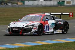 #50 Sébastien Loeb Racing Audi R8 LMS Ultra: Roland Bervillé, Anthony Beltoise