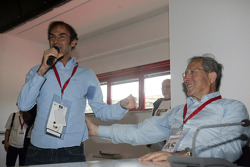 Press conference: the evolution of safety in F1, Mauro Forghieri and Emanuele Pirro
