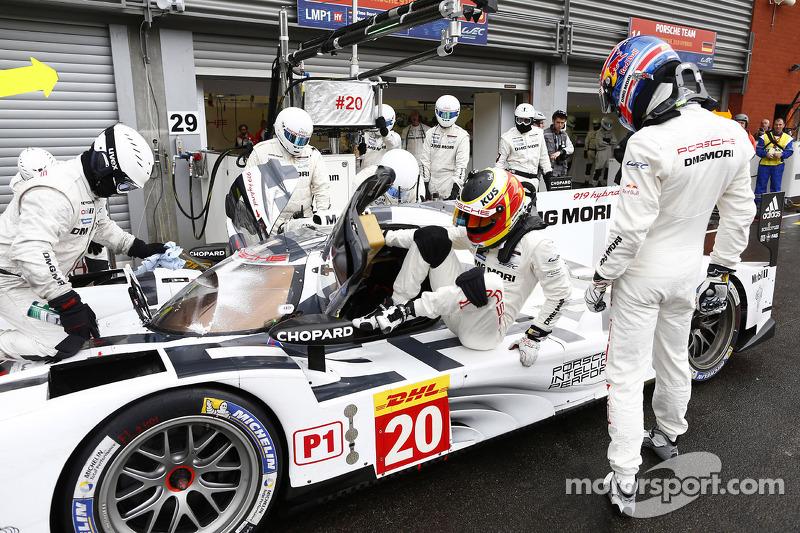 Timo Bernhard and Mark Webber