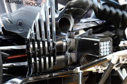 McLaren MP4-29 rear diffuser detail