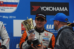 Third place Norbert Michelisz, Honda Civic WTCC, Zengo Motorsport