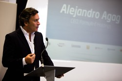 Alejandro Agag, CEO, unveils the Formula E headquarters