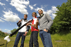 Skeet Shooting with Mattias Ekstrom, Audi Sport Team Abt Sportsline, Audi RS 5 DTM, Marco Wittmann, BMW Team RMG, BMW M4 DTM, and Gary Paffett, EURONICS Mercedes AMG, Portrait