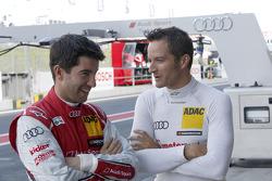 Mike Rockenfeller, Audi Sport Team Phoenix, Portrait, Timo Scheider, Audi Sport Team Phoenix, Portraits