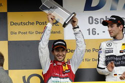 Podium, 2nd Mike Rockenfeller, Audi Sport Team Phoenix Audi RS 5 DTM