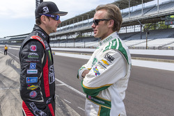 Kurt Busch and Ed Carpenter