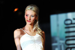 Chloe Roberts, girlfriend of Max Chilton, Marussia F1 Team, at the Amber Lounge Fashion Show
