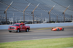 Vintage cars at the Indianapolis Motor Speedway