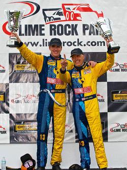 IMSA: CTSCC GS class winners #13 Rum Bum Racing Porsche 997: Matt Plumb, Nick Longhi