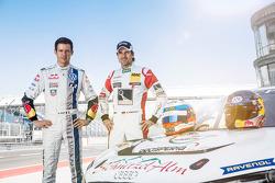 #12 Prosperia C. Abt Racing Audi R8 LMS ultra: Markus Winkelhock, Sébastien Ogier