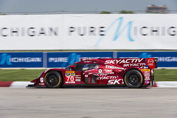 #70 Mazdaspeed/Speedsource Mazda Prototype: Tom Long, Sylvain Tremblay