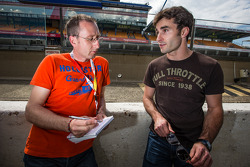 Franck Mailleux interviewed by famous journalist Laurent Mercier