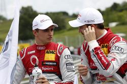 Nico M¸ller, Audi Sport Team Rosberg Audi RS 5 DTM and Jamie Green, Audi Sport Team Abt Sportsline Audi RS 5 DTM