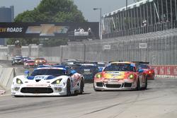 #33 Riley Motorsports SRT Viper GT3-R: Jeroen Bleekemolen & Ben Keating  #73 Park Place Motorsports Porsche 911 GT America: Patrick Lindsey & Kevin Estre